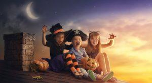 Is Kids' Halloween Makeup Dangerous