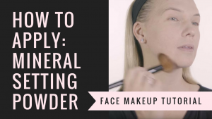 How to Apply Natural Setting Powder