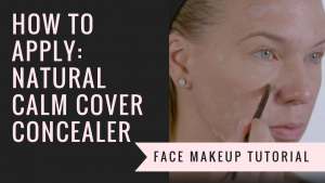 How to Apply Natural Calm Cover Concealer
