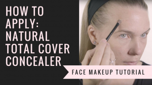 How to Apply Natural Total Cover Concealer