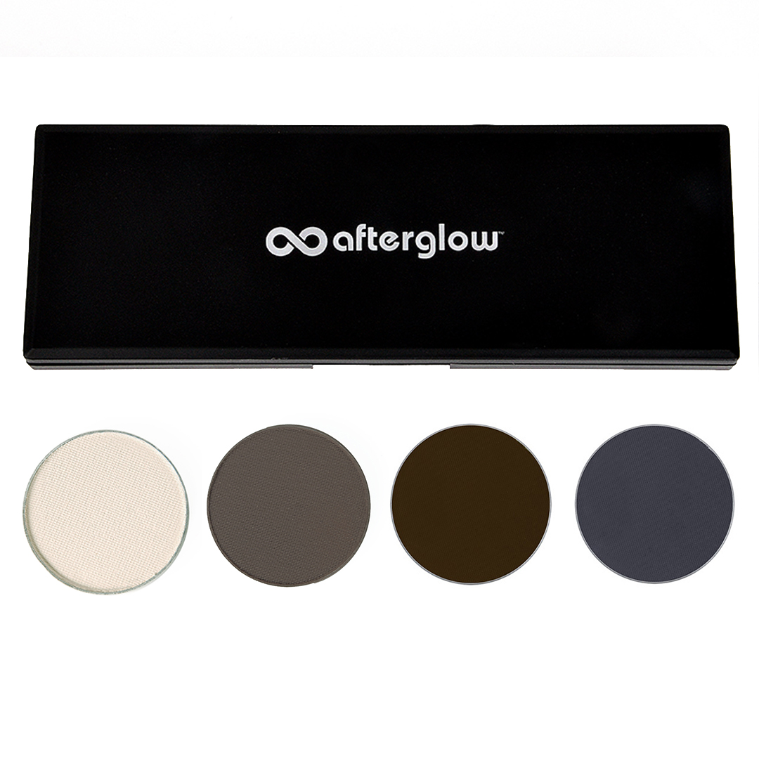 Afterglow Neutral Eye Shadow Bundle with Compact